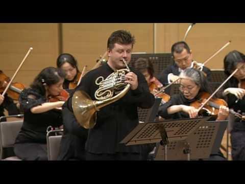 Mozart : Horn Concerto No.2, I. Allegro maestoso - Baborak·Ozawa·Mito Chamber Orchestra