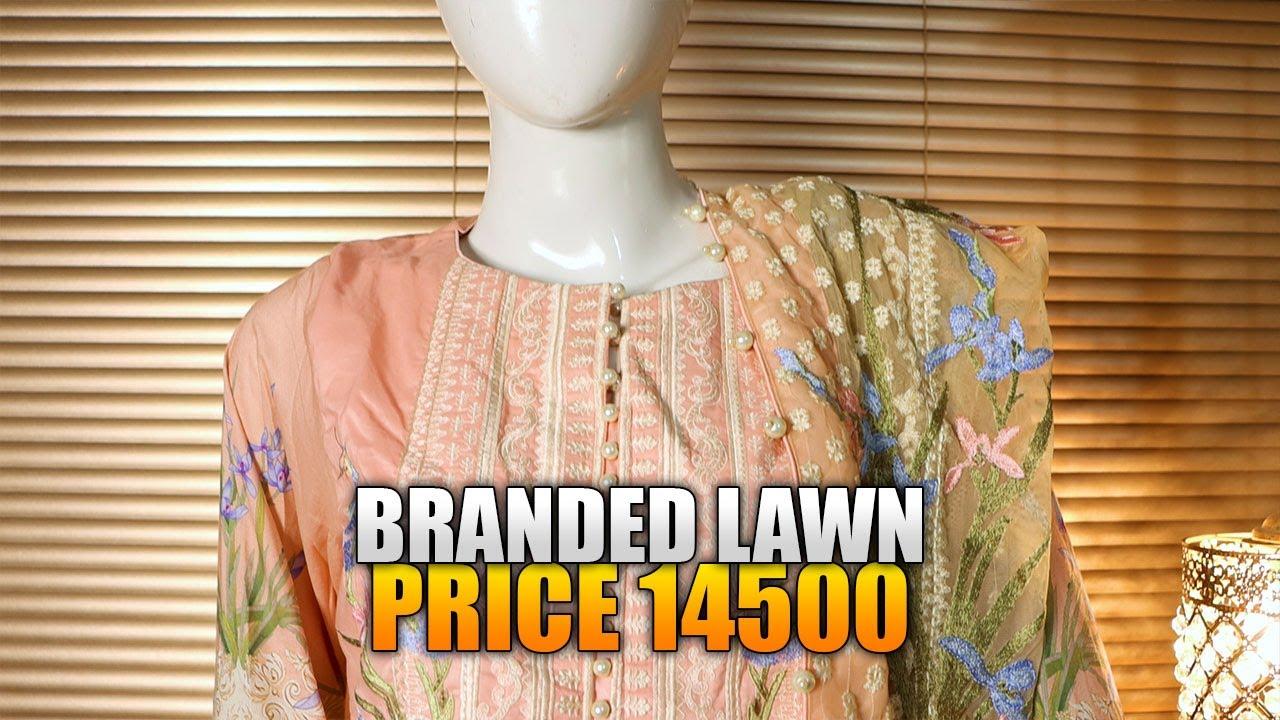 Lawn Dress Stitching Designs 2020 | Latest Lawn Dress Design 2020 | Sara Clothes