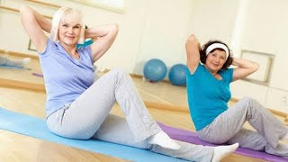 Упражнения для женщин в тренажерном зале после 50