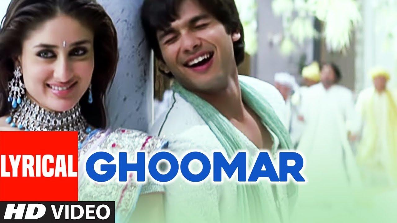 Download Ghoomar Lyrical Video Song | Chup Chup Ke | Shahid Kapoor, Kareena Kapoor, Sunil Shetty