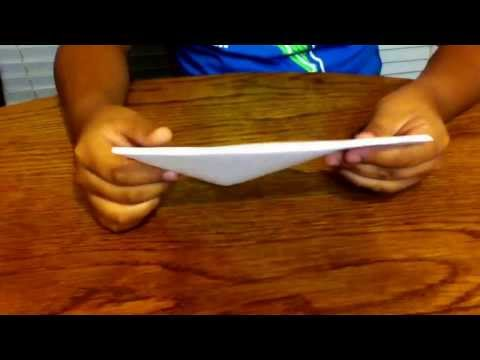 How to make a origami paper beak