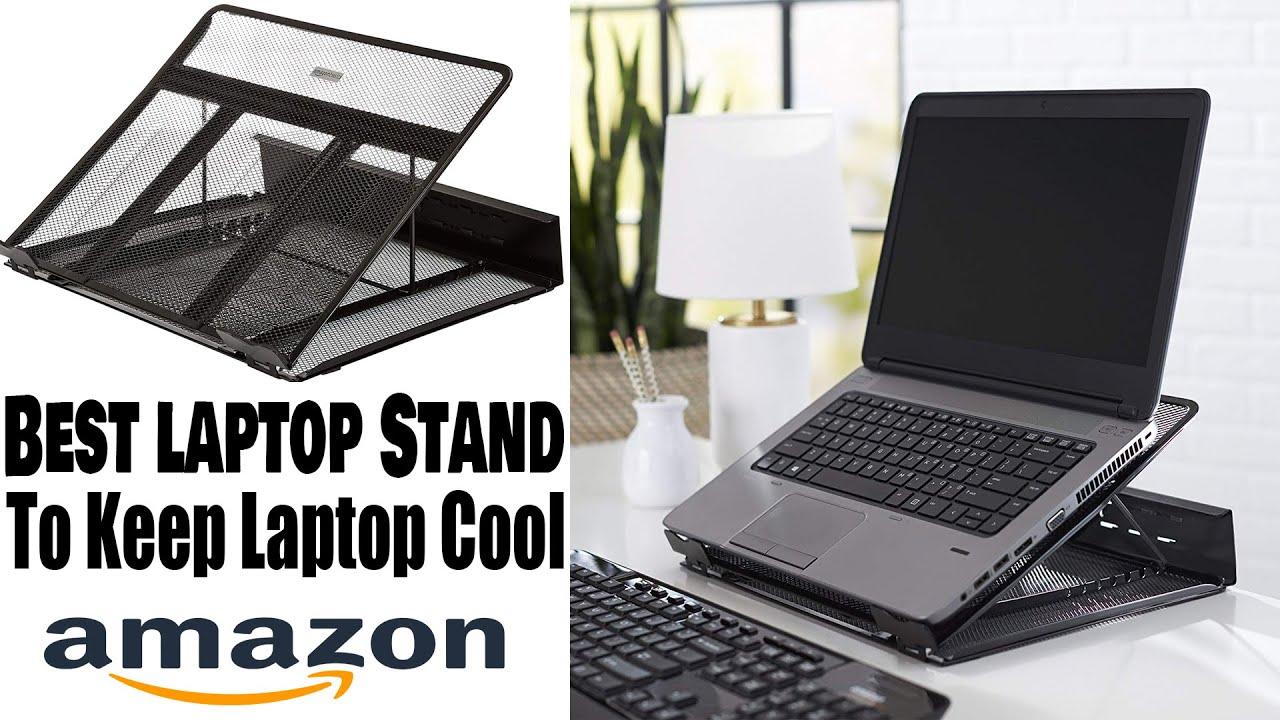 Amazon Basics Laptop Stand Ventilated Adjustable