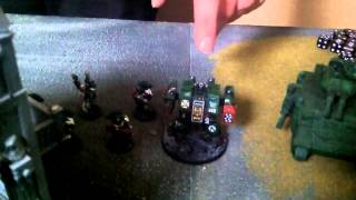 Chaos Space Marines Vs. Dark Angels 1500 Points Decider! Pt.1