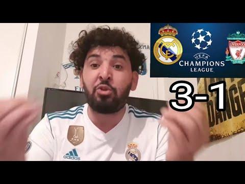 REAL MADRID VS LIVERPOOL 3-1 DEBRIEF (KARIUS L' ANUS)