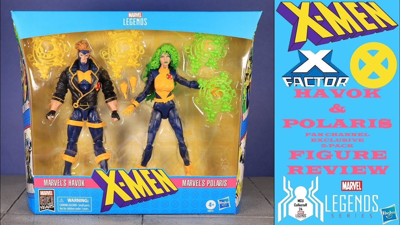 Marvel Legends X-Men Series Polaris Action Figure