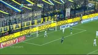Gol de letra por cobertura?! Golaço de Calleri - Boca x Quilmes