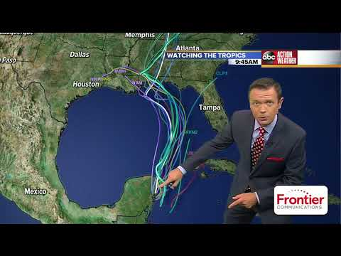 Subtropical storm Alberto forms in Gulf of Mexico