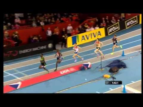 Mo Farah-Indoor 1500m.Glasgow ,2012