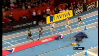 Mo Farah-Indoor 1500m.Glasgow ,2012