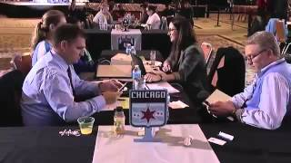 Video: Adrienne Jordan gets picked by Chicago Red Stars with the 35th pick in the draft