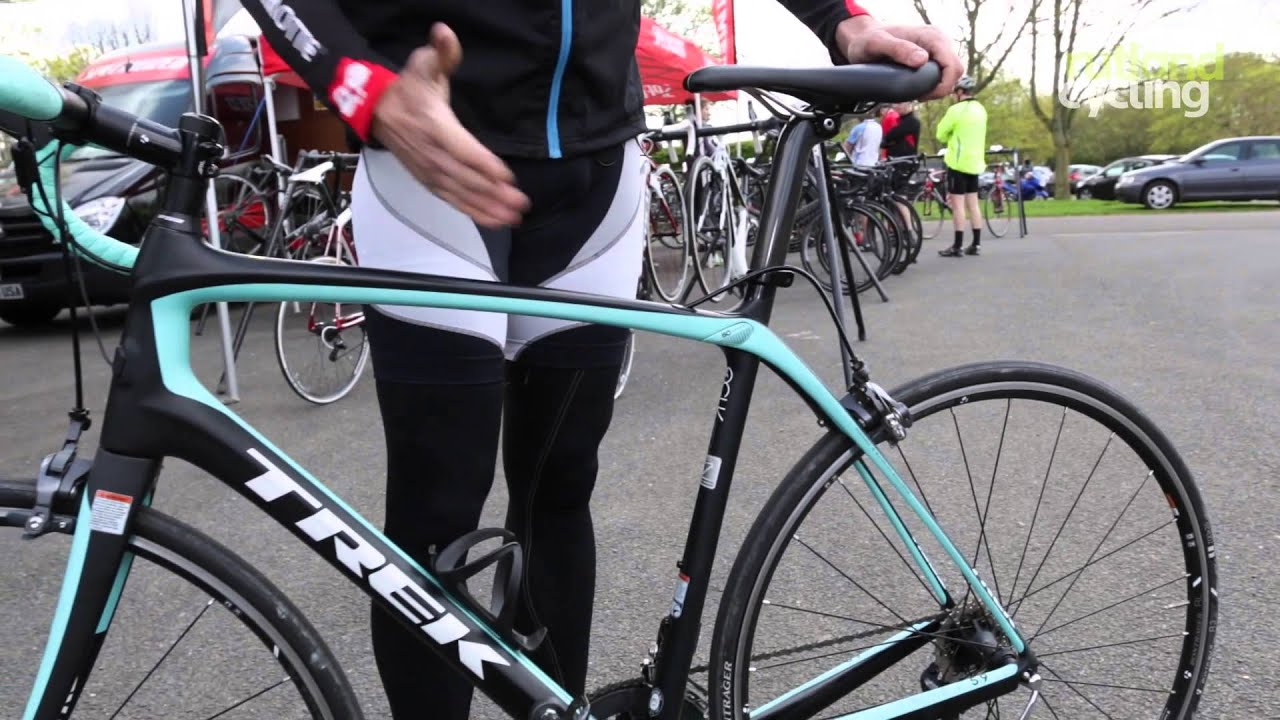 Trek Domane 5.9 2014 Road Bike - Review - YouTube
