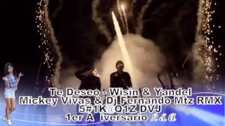 5#1K@Q1Z DVJ WISIN & YANDEL  Te Deseo Mikey Vivas Ft  dj Fernando Mtz RMX