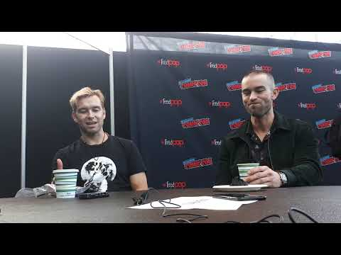 NYCC 2018: Antony Starr and Chace Crawford discuss The Boys and The Seven
