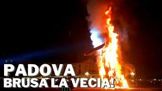🧹 BURNING THE BEFANA WITCH IN PADOVA, ITALY 🧹 BRUSA LA VECIA! [PADUA]