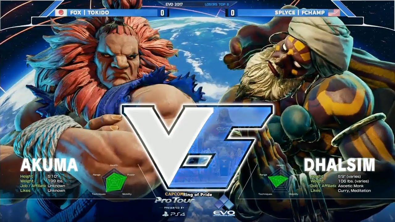 EVO 2017's Street Fighter 5 grand final was like the last 15