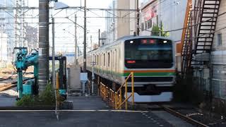 東海道線 回送列車 辻堂駅 E231系