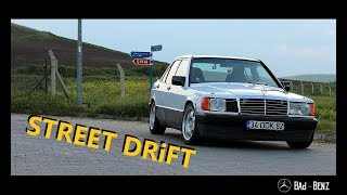 Bad-Benz Mercedes 190D 2.5 Turbo Street Drift