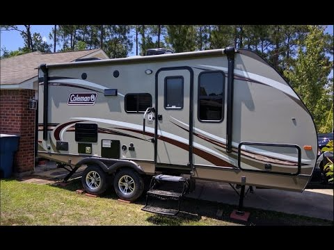 Coleman Travel Trailers >> 2017 Coleman Light 1805rb