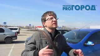 В Рязани прошла очередная забастовка таксистов