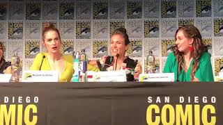 Dominique P-C And Katherine Barrell talking about Melanie Scrofano directing the WayHaught scene