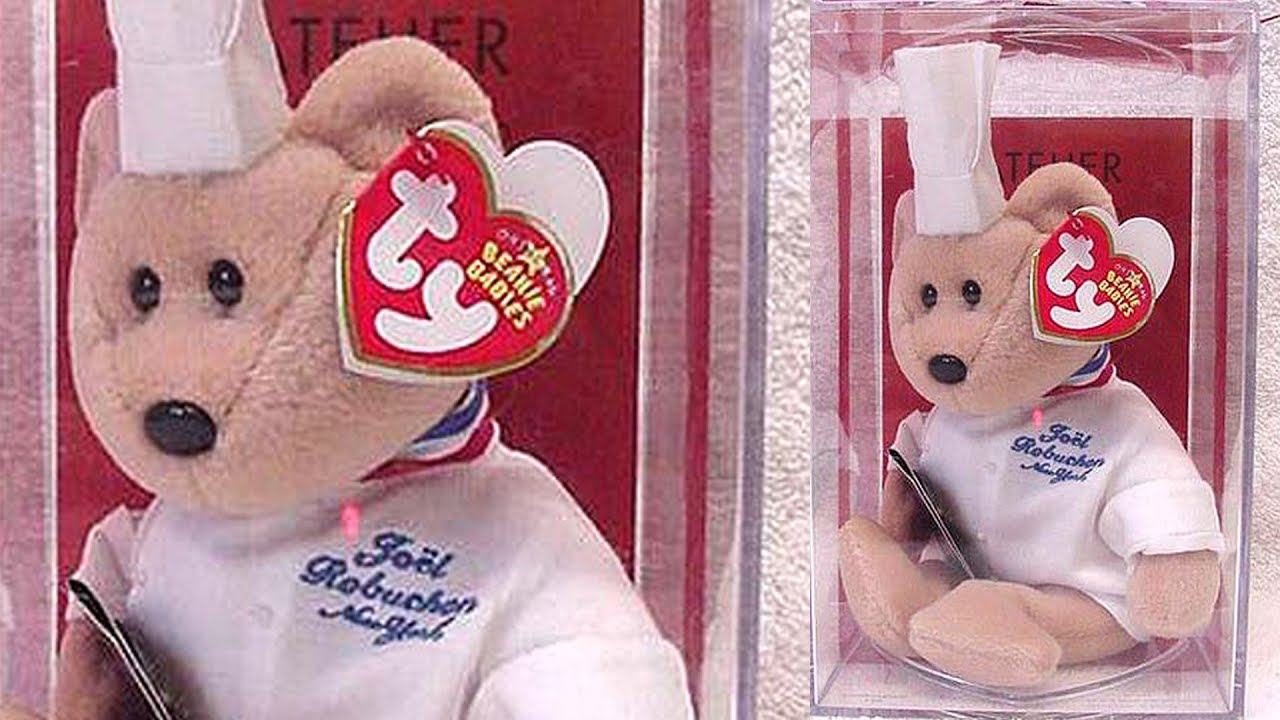 Top 10 Most Expensive Beanie Babies - YouTube fd39e01c79a