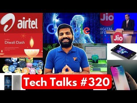 Tech Talks #320 - AirTel VoLTE, Oppo F5 India, Bixby 2.0, Cockroach ROBOT, iPhone X Delay