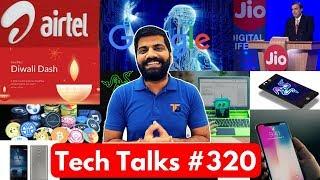 tech talks 320 airtel volte oppo f5 india bixby 2 0 cockroach robot iphone x delay