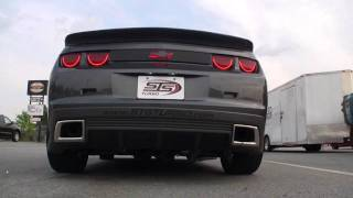 sts turbo system installed in 2010 camaro v6 video by advanced automotive concepts