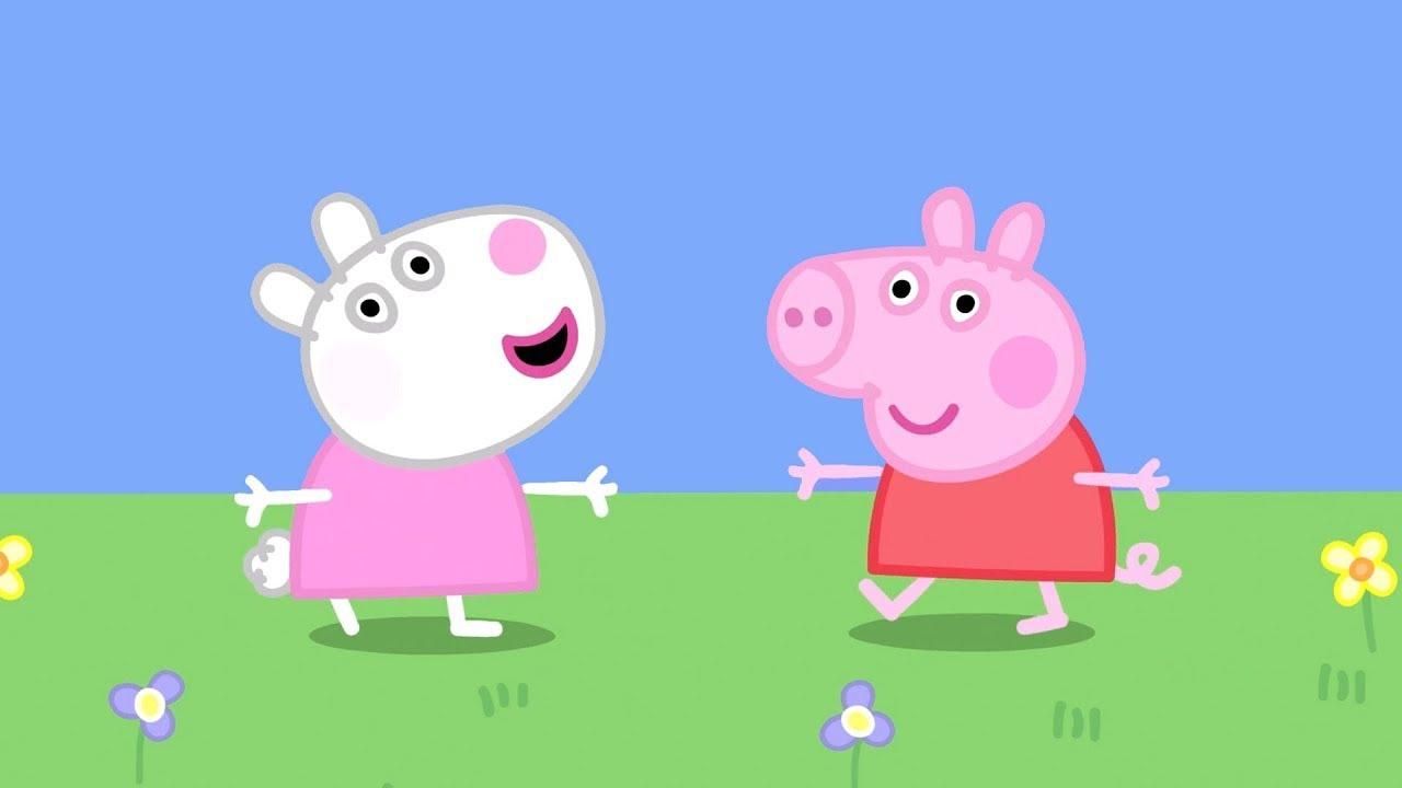 Peppa Pig Português Brasil | Amigos do bebê | Desenhos Animados