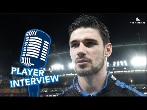 STAYING UP! Christopher Schindler on Huddersfield Town's 1-1 draw with Chelsea