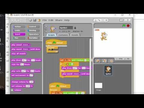 Computer Programming 2 Tutorial Scratch programming Designing Basic Games