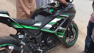 Kawasaki Ninja 300 Heavy Bike Sound Test || Repsol