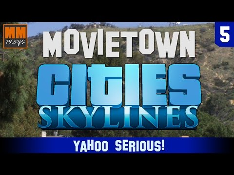MOVIETOWN - Cities: Skylines - 5 - Yahoo Serious!