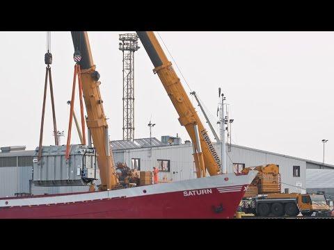 151 Tons Heavy Lift Crane Liebherr LTM 1500-8.1 ABB Transformer