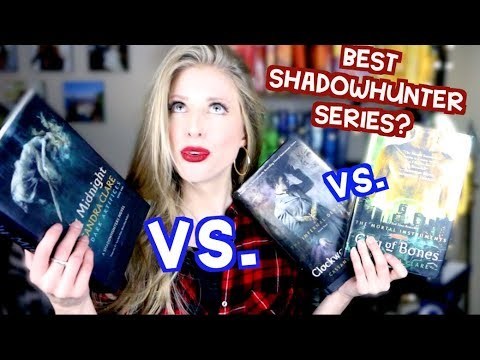 THE BEST SHADOWHUNTER SERIES | BOOK TAG