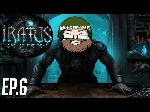The final roadblock in the mines: Big Chungus with a Crossbow!   Iratus: Lord of the Dead  