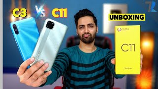 realme C11 Unboxing & Comparison With realme C3 🔥| Helio G70 vs Helio G35 💪| Which is Better?🤷♂️