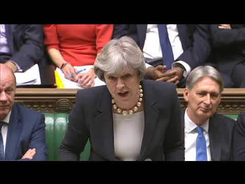 Prime Minister' Questions: 22 November 2017