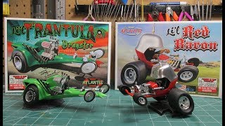 Atlantis Lil Red Baron Lil Trantula Tom Daniel 1/32 Scale Model Kit Build Review thumbnail