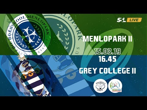 Menlopark 2nd XV vs Grey College 2nd XV - Noord Suid Rugby Toernooi