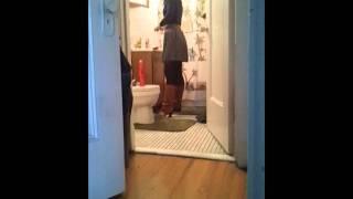 Girl Breaking nude amish