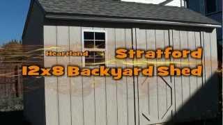 12x8 Backyard Shed