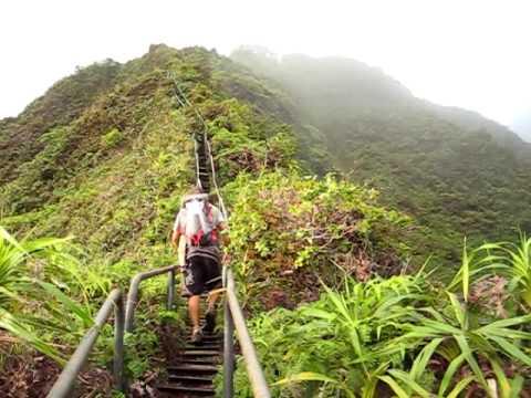 Island Trails Haiku Stairs Stairway To Heaven Moanalua