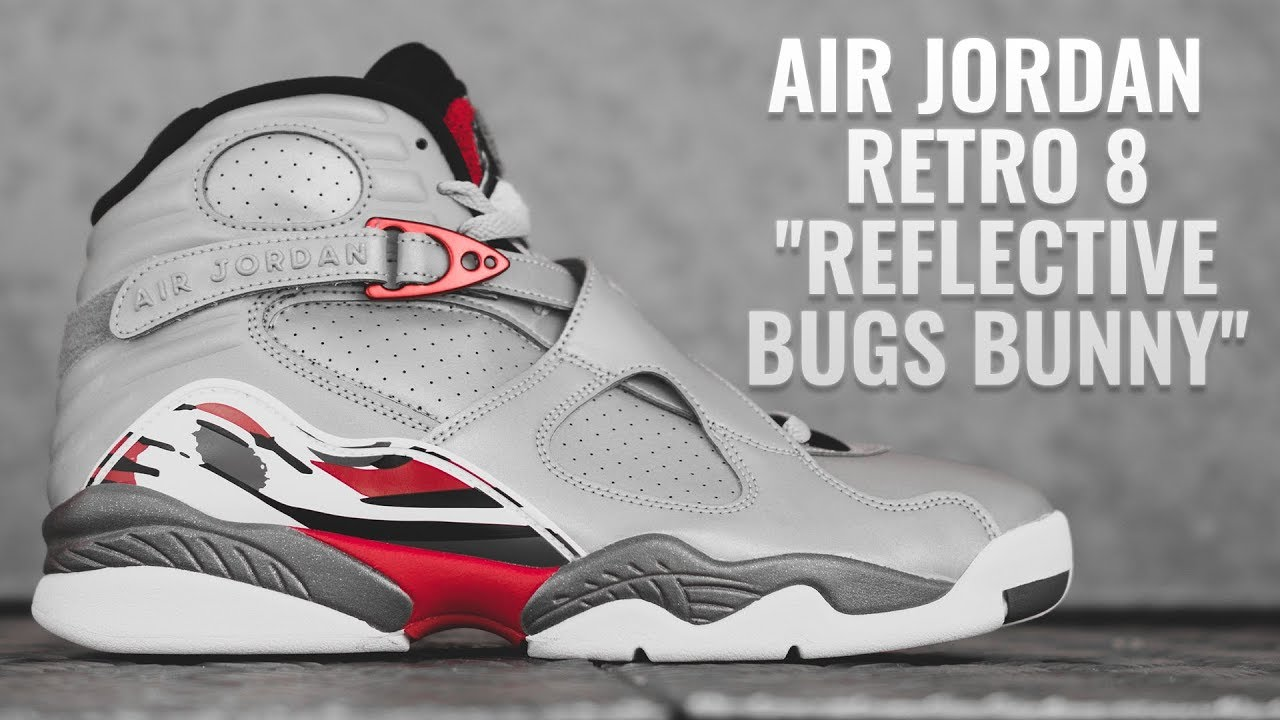 Air Jordan Retro 8 ''Reflective Bugs Bunny''