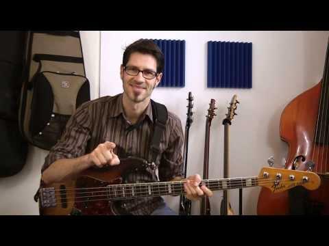 Tip0103 - Wie erkenne ich die Tonart? #1 - German Bass lesson