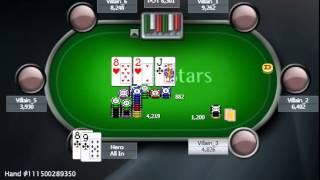 Раздача дня Школы Покера PokerStarter: Защита блайнда.