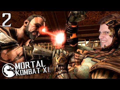 ПРОХОЖДЕНИЕ Mortal Kombat XL НА РУССКОМ ЯЗЫКЕ -ГЛАВА 2- КОТАЛЬ КАН