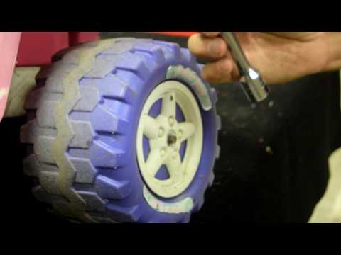 How To Remove Powerwheels Toy Ride On Wheel