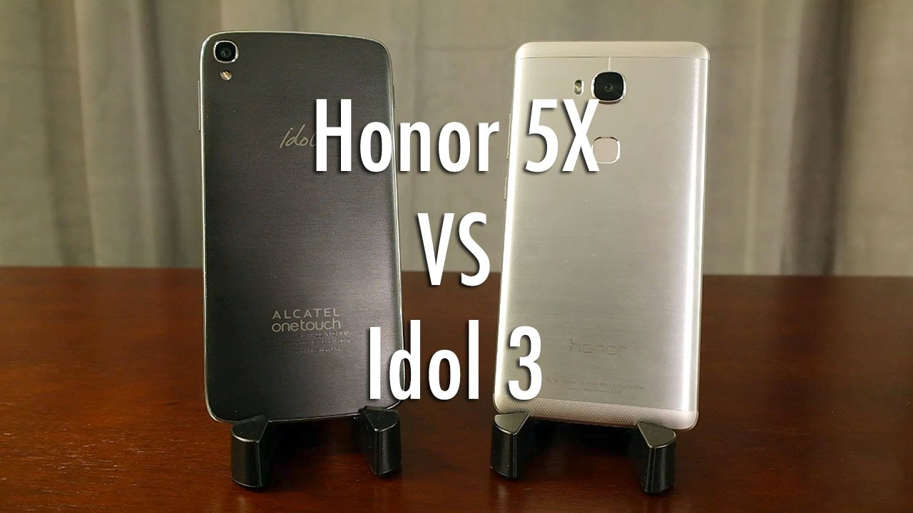 Huawei Honor 5X vs Alcatel OneTouch Idol 3: best bang for buck smartphone?  | Pocketnow