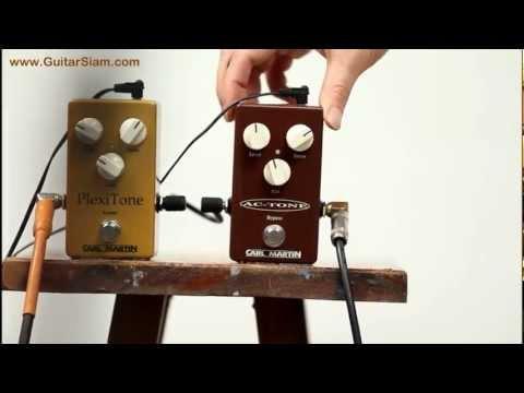 Carl Martin PlexiTone & AC-Tone Pedals